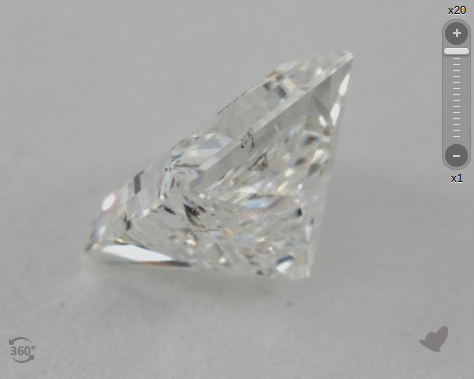 Princess Diamond Crown Height 12.6%